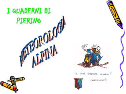 meteorologia alpina in pps