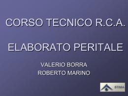 modello di perizia - PERITI AUTO www.peritiauto.it