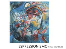 L`Espressionismo