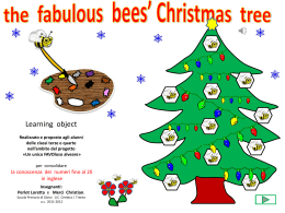 the fabulous bees` christmas stree