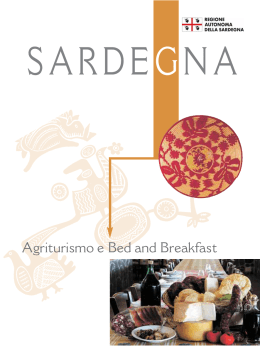 Agriturismo e Bed and Breakfast