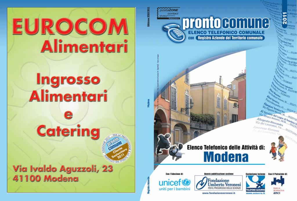 Registro Aziende Modena Edizione 20102011