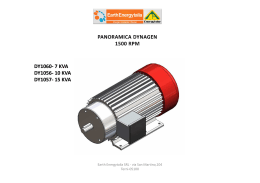 Dynagen 1500 rpm - Earth Energy SRL