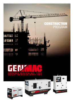 CONSTRUCTION PROGRAM