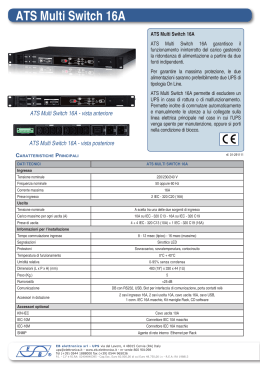 ATS Multi Switch 16A