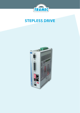Motori/Drive Stepless