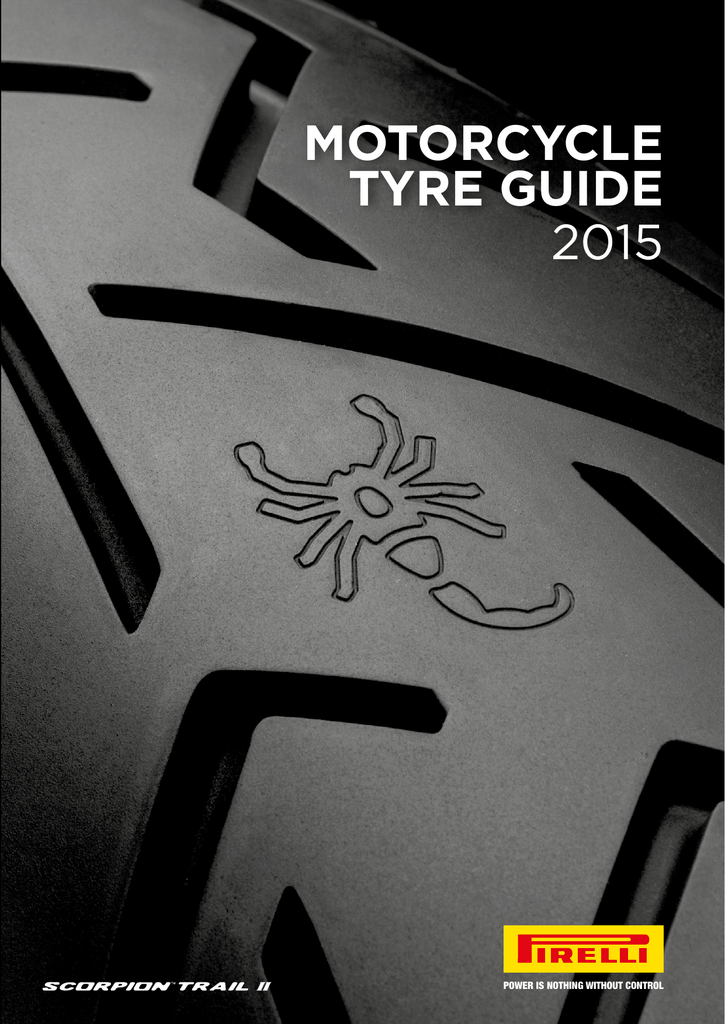Motorcycle Tyre Guide 2015