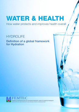 Consensus Paper - HydrationLab.it