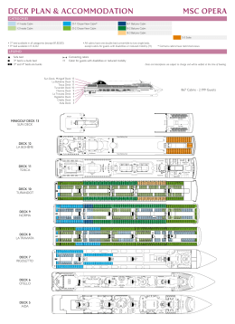 Deck Plan - MSC Cruises Ireland