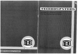 011 Catalogo - Botti Technosystems S.R.L.
