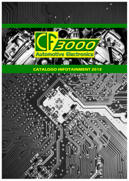 CATALOGO INFOTAINMENT 2015