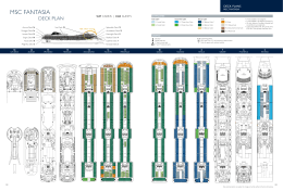 Sun deck msc crociere for Deckplan msc splendida