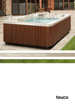 Catalogo minipiscine classic collection
