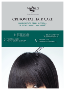 CRINOVITAL HAIR CARE