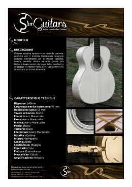 PDF - Slim Guitars