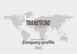 TRANSTECNO Group Company Profile