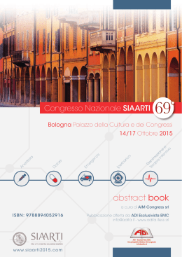 abstract book - siaarti 2015