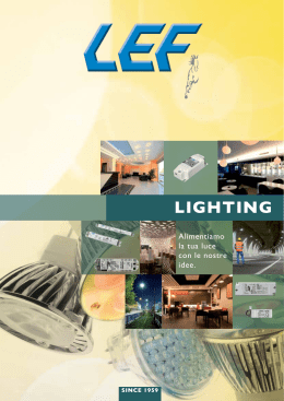 CATALOGO Lighting