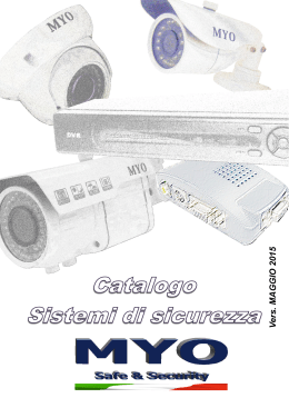 telecamere ip - MYO :: Safe & Security
