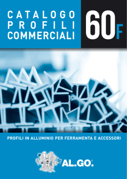 Catalogo profili commerciali