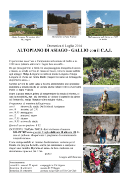 140706 cai-altopiano Asiago-Gallio