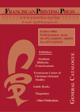 FPP Catalogue - Christus Rex