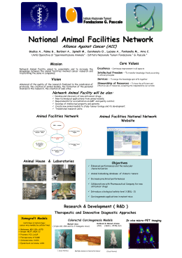 National Animal Facility Network