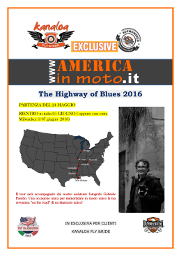 The Highway of Blues 2016