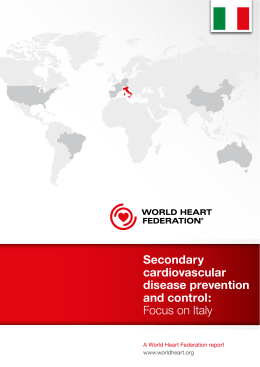 Secondary cardiovascular disease prevention