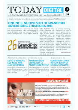Today - GrandPrix | Advertising Strategies