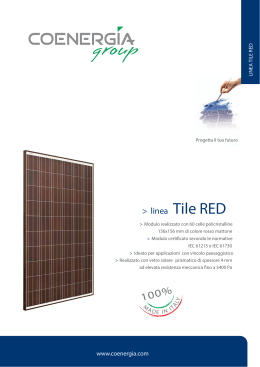 Tile Red Datasheet