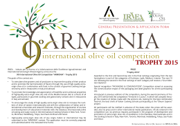 international olive oil competition
