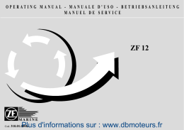 ZF 12 Plus d`informations sur
