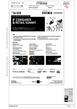 8 Consumer & Retail Summit