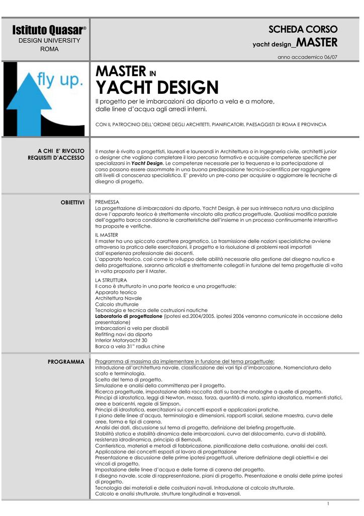 YACHT DESIGN - Casaportale.com