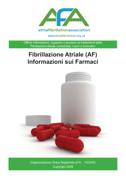 Available Drugs AFA Booklet.indd - Atrial Fibrillation Association