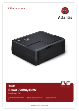 Smart 720VA/360W - Atlantis-Land