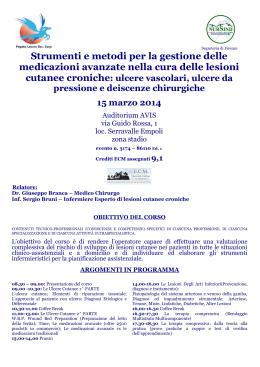 Comunicazioni orali - Clinica Dermatologica - Bari