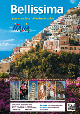 your complete Italian travel guide f