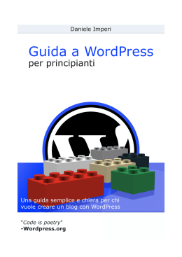 Guida a WordPress per principianti