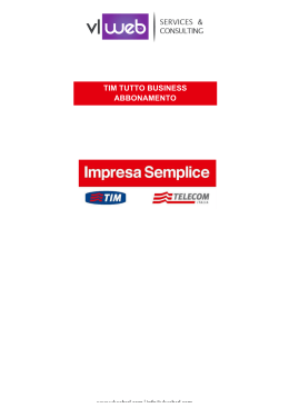 TIM TUTTO BUSINESS ABBONAMENTO