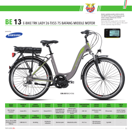 BE 13 E-bIkE TRk lAdY 26 TX55 7s bAFAnG mIddlE