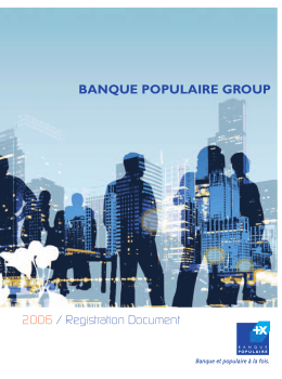 BANQUE POPULAIRE GROUP