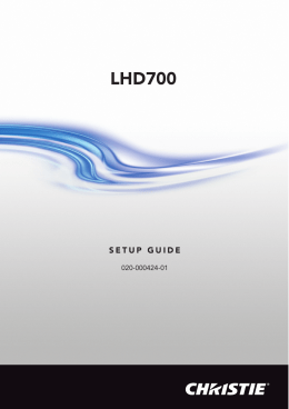 LHD700 - QED Productions