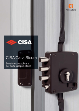 Serrature - CISA.com