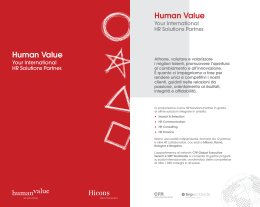 Brochure - Human Value