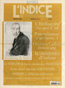 l`indice - BESS Digital Archive