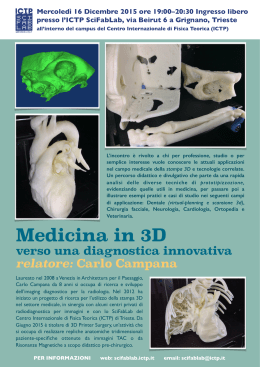 locandina in PDF - ICTP Scientific FabLab