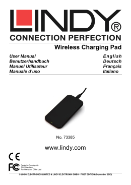 LINDY User Manual