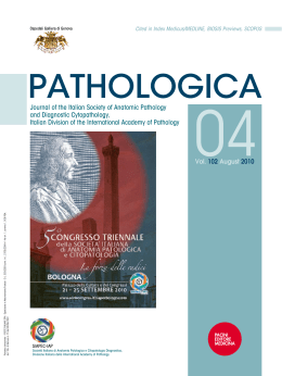 Journal of the Italian Society of Anatomic Pathology and Diagnostic